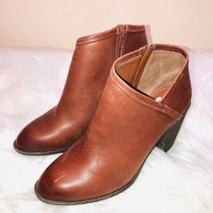 Lucky Brand Brown Booties 9.5